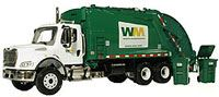 Waste Management trash truck