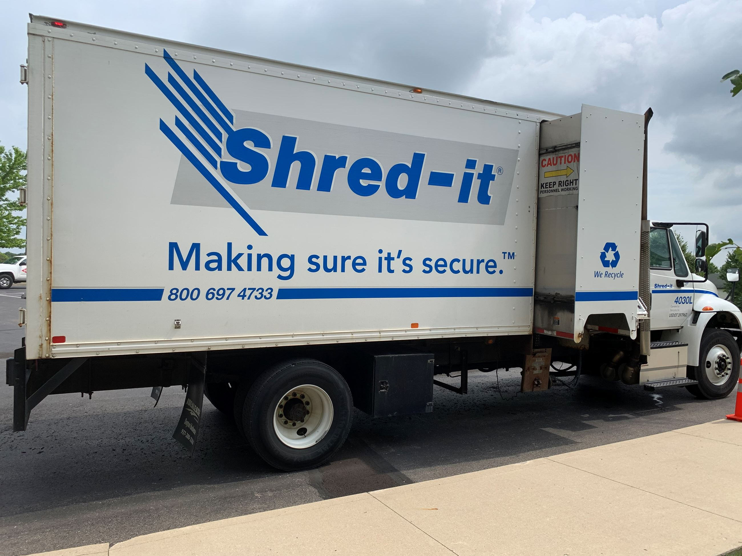 Shred-It Truck