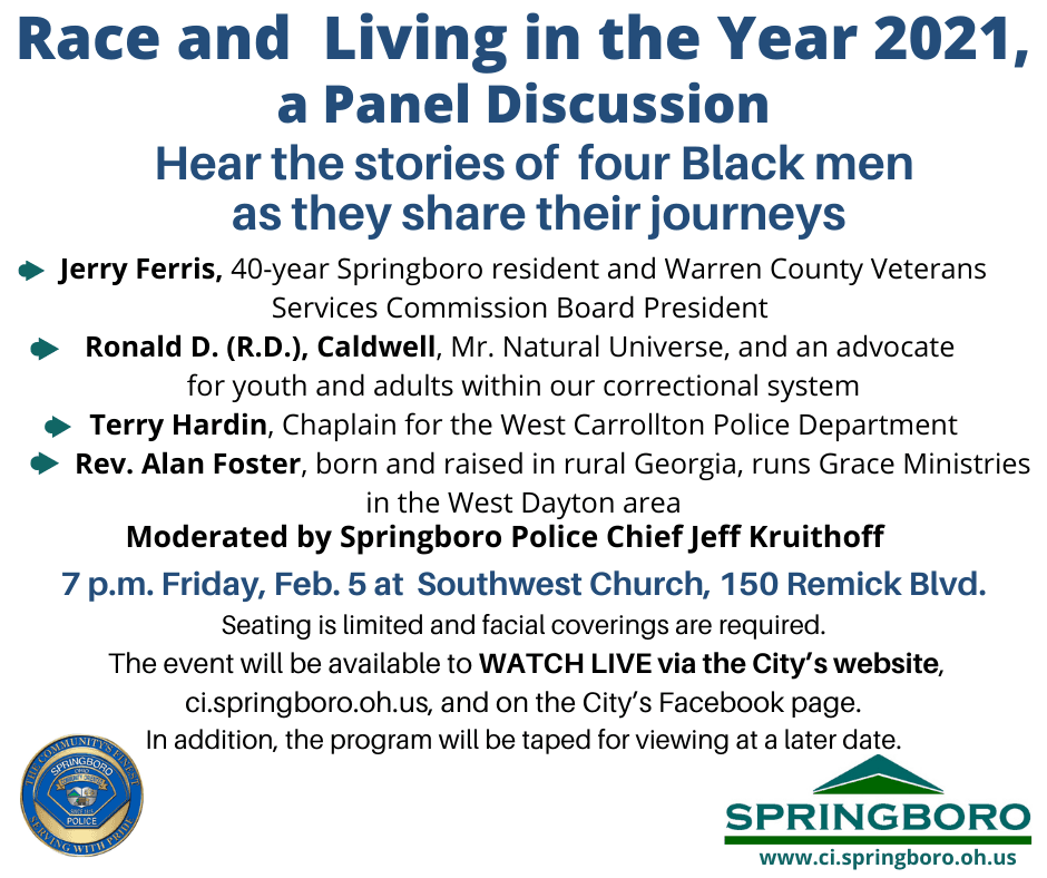 Race and Living in the Year 2021, a Panel Discussion