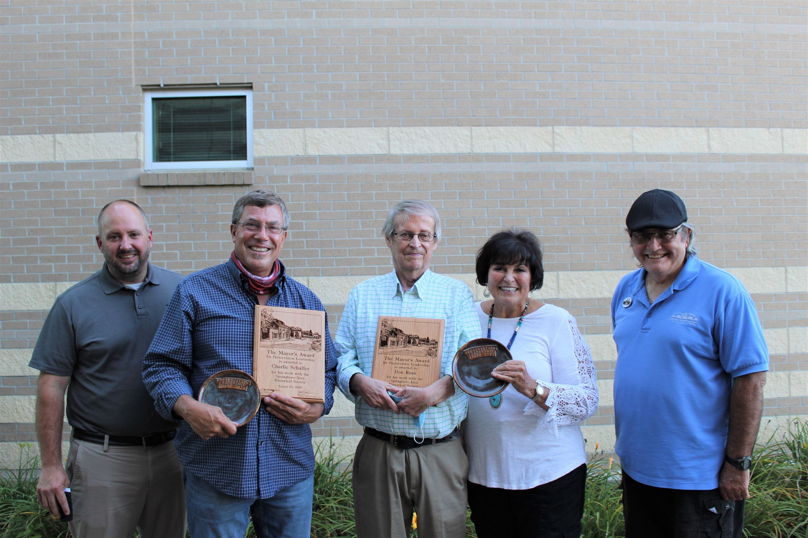 Historical Preservation Awards winners 2020