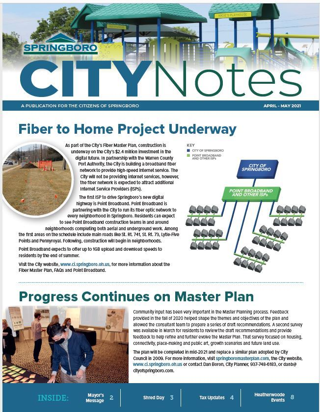 April May 2021 City Notes