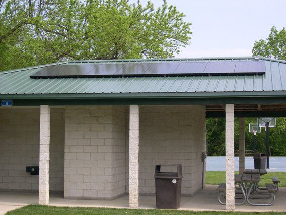 System at Community Park Shelter B