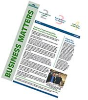 Business Matters Newsletter front page