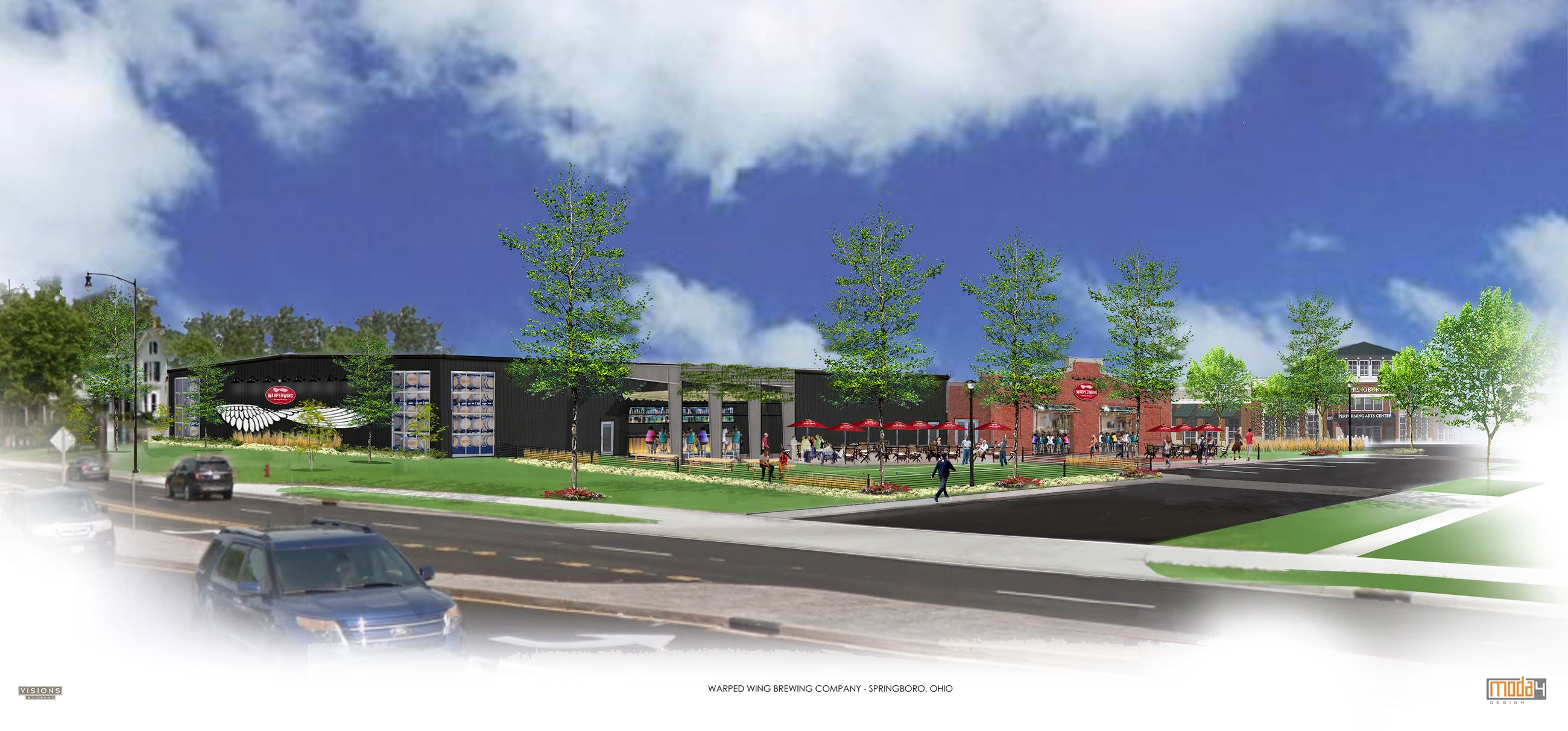 Warped Wing Springboro rendering